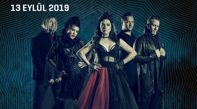 Evanescence 13 Eylül'de Volkswagen Arena'da!