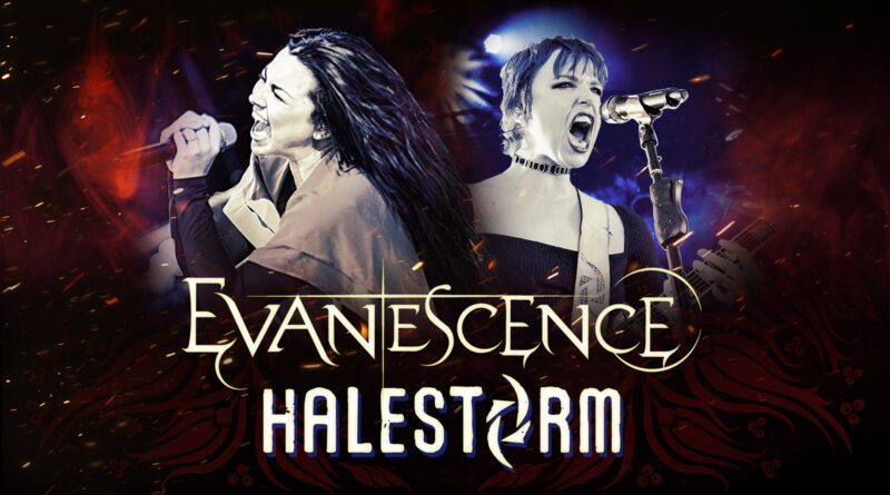 Evanescence & Halestorm: US Arena Tour